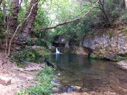 Ruisseau Corbières à 5min à pied du gîte
