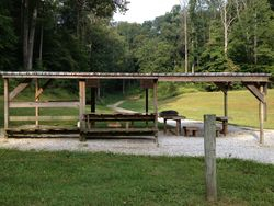 100 yard Rifle Range