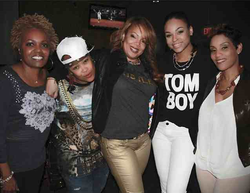 Da Brat, Demetria McKinney and Stacey J at Da Brat's Surprise Birthday party