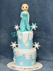 Frozen themed cake 2
