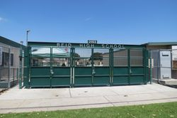 Entry to Reid Senior High