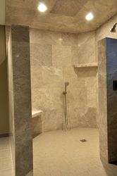 Porcelain Marble Shower
