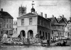 Wolverhampton Market. 1750s.
