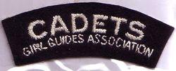 Cadet Shoulder Badge