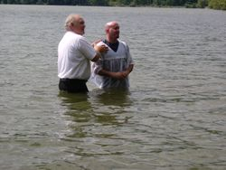 Rev. Esmark with Jay Radway