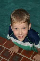 Oscar in ther Swim