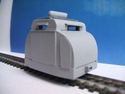 Meridian Armoured Simplex on a Motor bogie ( Darryl Foxwell)