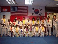 17 students won 58 metals, and 31 metals were gold 1st place  at  Taekwondo Championship 06-05-2011