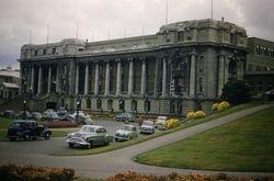 Parliament buildings Wellington 1955