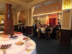 Chocolate fountain hire at The Imperial Hotel, Blackpool