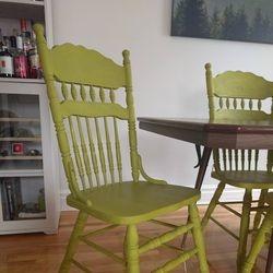 Chaise peinte Firle
