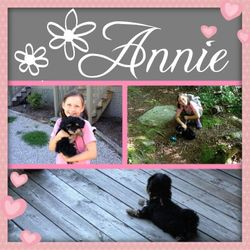 Annie with her B/F Lily