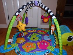Infantino Baby Activity Gym Ball Pit Turtle Play Mat - $30