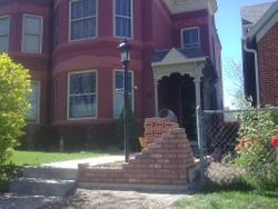 Brick Planter  Denver
