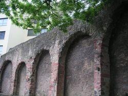 Staufenmauer = Jewish Ghetto Wall