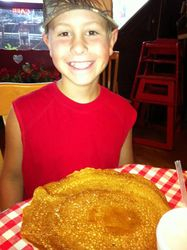 "A ""Billy Gail's"" pancake"