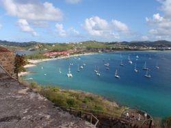 Rodney Bay anchorage