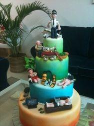 Pilots Birthday Cake