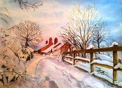 Snow in Kirklington