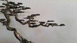 Brass over Geode Bonsai Tree