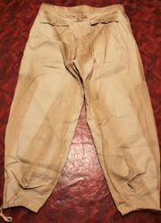 Drill Material Panzer Trousers:
