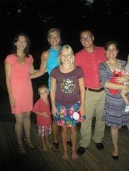 Barkman Family at CHOP dinner