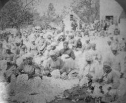 Former slaves at Fuller Place - 1880s