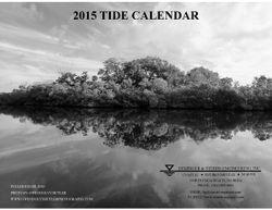 2015 Tide Calendar Cover