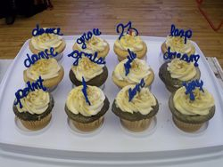 Choreo Practice 2013 - and Linds' cupcakes!