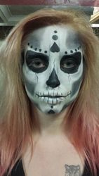 Skull with a difference