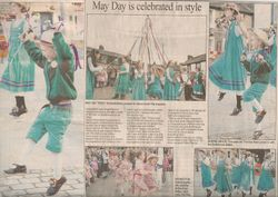 May Day is celebrated in style