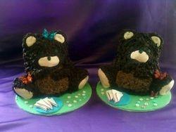 Teddy bears picnic cakes