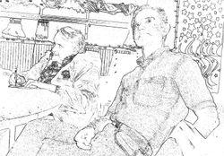 J.L., Tom sketch
