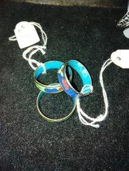 Cloisonnéringar/ Cloisonné rings