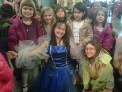 With future dreamers after performing Into the Woods with ROK