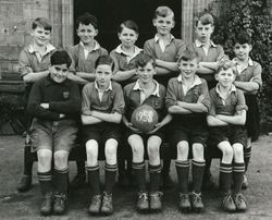 1st XII Football (5) -  1958