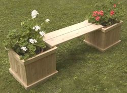 6' Planterbox's and bench