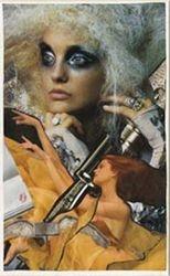 """November 3,2006: Collage #63: """"Wild-eyed Writer"""""""