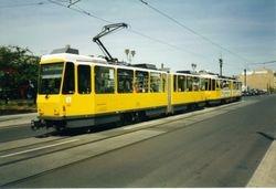 Tatra KT4Ds running in tandem.