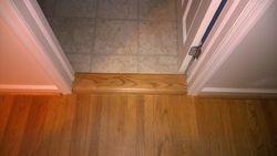 Customized bathroom entryway