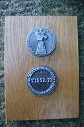 Medalis-bareljefas Tiesa, 1973 m. Kaina 17