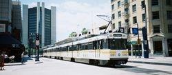 Long Trams at Long Beach