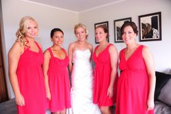 Jasmine's Bridal Party Tan's 2012