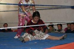Cholita wrestling, El Alto, Bolivia 11
