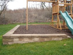 Retaining Wall For Playground