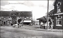 The old Toll house. 1920s.