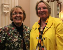Diane Wilson and Karen Knight