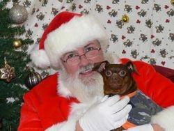 Taz and Santa