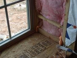 foam in window boxes