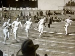 Charley Wins Silver Medal in 1924 Olympics